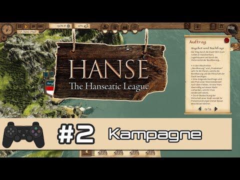 Hanse - The Hanseatic League | #2: Fräulein Clementia den Hof machen | Let's Play Hanse (Deutsch)