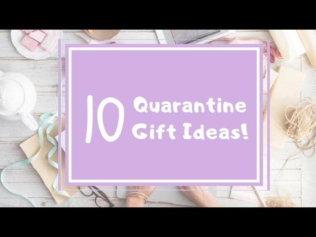 10 Quarantine Birthday Gift Ideas Youtube
