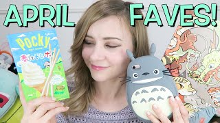 Some of My Favourite Things: Pocky, Totoro, Japanese Art and more! | APRIL 2016