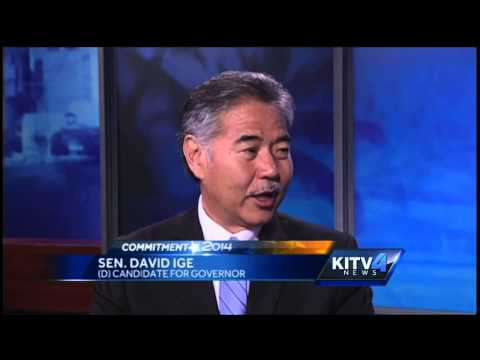 State Senator David Ige outsts Governor Neil Abercrombie in the Primary Election