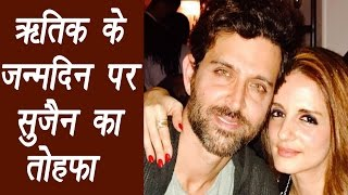 Sussanne Khan wishes Hrithik Roshan happy birthday with a cute picture | FilmiBeat