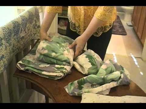 Household Tips - Best Way to Store Sheets - You YouTube Mom