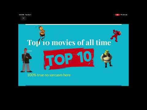 10 cinematic classics ever created!