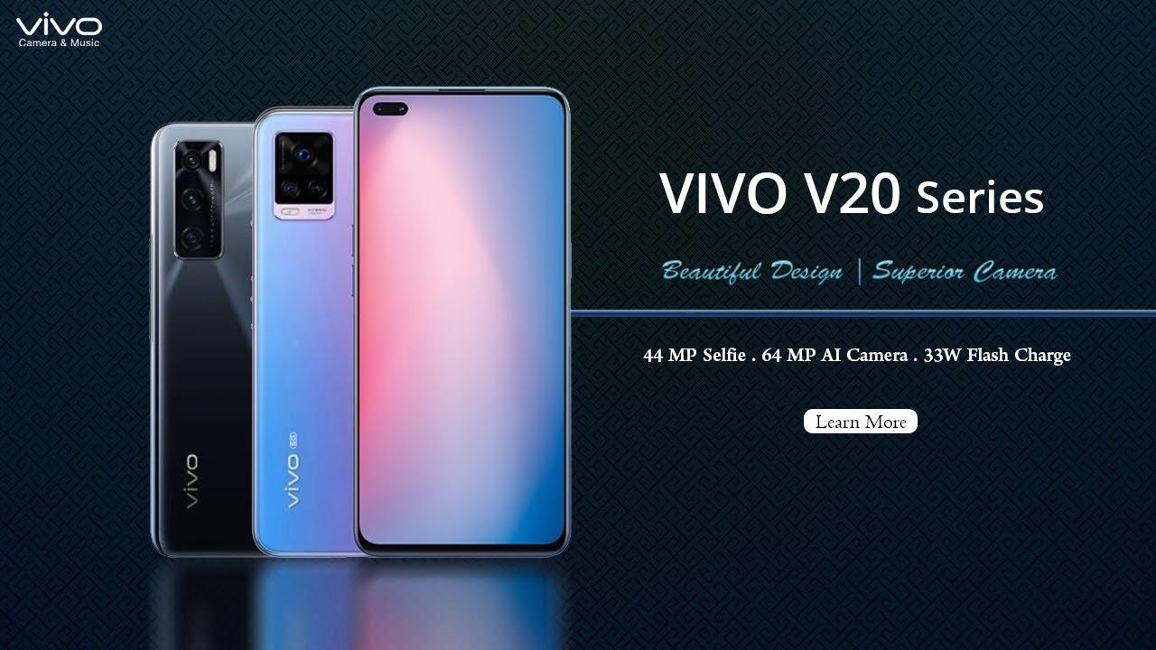 Vivo V20 Series - Official First Look | Specifications - V20 | V20 SE | V20  Pro - YouTube