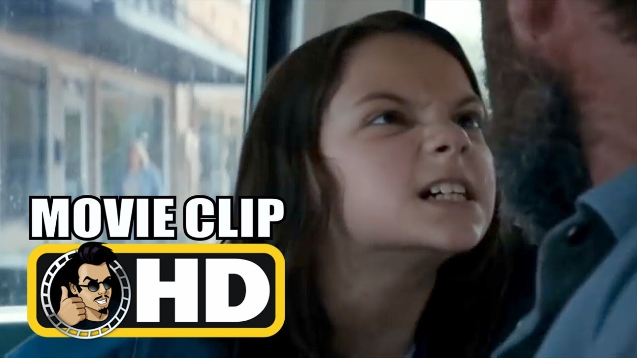 Logan 2017 Movie Clip - Laura Speaks For The First Time -3356