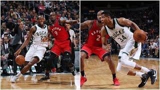 Giannis Antetokounmpo & Khris Middleton Lead the Way for the Bucks vs Toronto | 03.04.17