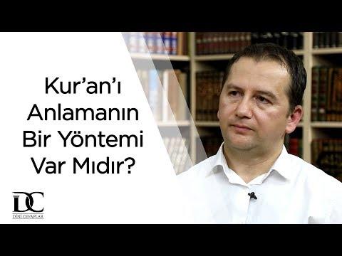 Kur'an'ı Anlamanın Bir Yöntemi Var Mıdır? - Fatih Orum