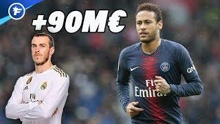 Le Real Madrid propose 90 M€ plus Gareth Bale pour Neymar | Revue de presse