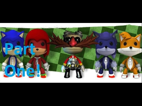 Little Big Planet 3 #1. Sonic and Eggman's Quest