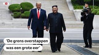 NOORD-KOREA: Zo verliep het historische bezoek van Trump aan Noord-Korea
