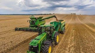 SON.POL wielkie żniwa na pomorzu | Big harvest in Pomerania in Poland 10xJD| Wtopa