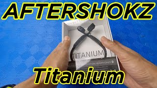 REVIEW Bone Conduction Headphones AfterShokz Titanium Open Ear Wireless