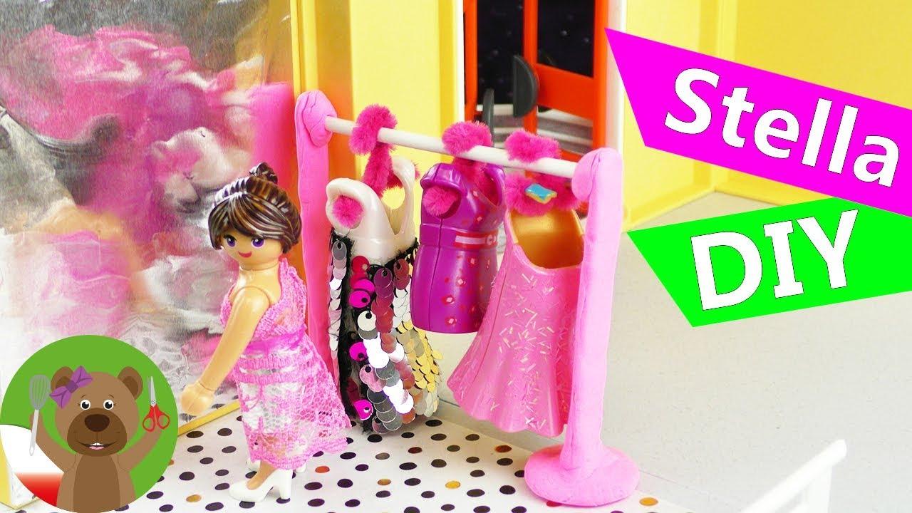 DIY Playmobil | Garderoba w luksusowej willi Stelli | urządzanie willi Playmobil