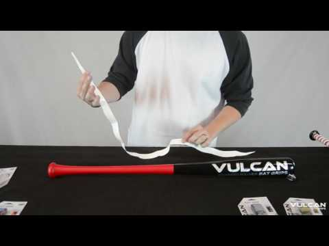 How to Wrap Your Tapered Bat   Vulcan Bat Grips