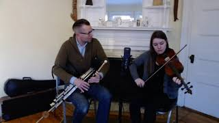 The Milliner's Daughter/The Sligo Maid | Will Woodson & Caitlin Finley, Uilleann Pipes and Fiddle