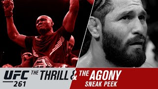 UFC 261: The Thrill and the Agony - Sneak Peek