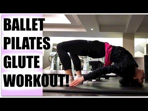 Ballet Pilates Glute Workout | Bananarina