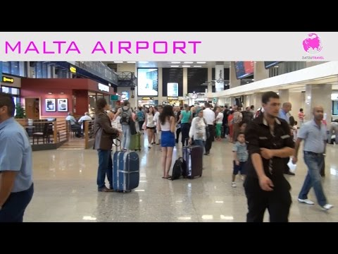 Malta Airport Video Guide