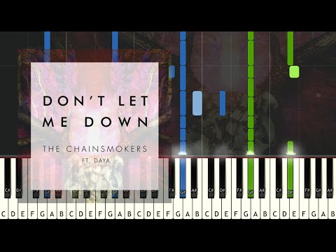 The Chainsmokers - Don't Let Me Down -...
