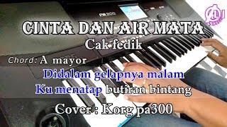 Download CINTA DAN AIR MATA - KARAOKE DAN LIRIK (COVER) KORG Pa300