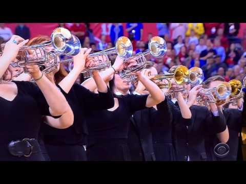 National Anthem at the 2015 NCAA Men's Division I Basketball Championship