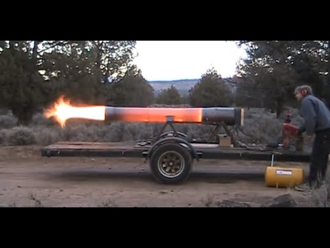 New Rocketman show starting 2017 Super Dragon 300 pound thrust Pulsejet Engine!