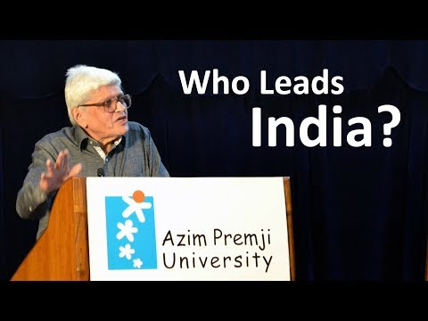 Gopalkrishna Gandhi - Who Leads India? | 'Resurrecting the Public' Lecture Series