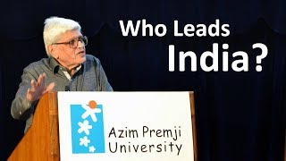 Gopalkrishna Gandhi - Who Leads India?   'Resurrecting the Public' Lecture Series