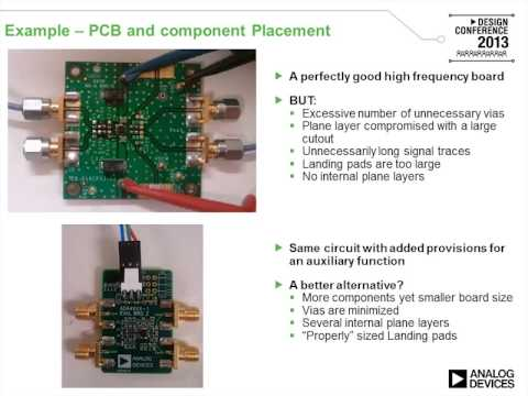 High Speed and RF Design Considerations