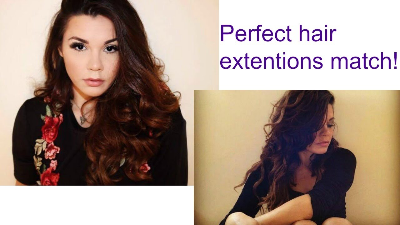 Foxylocks How To Choose The Perfect Shade For Hair Extensions