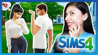MEETING MY CUTE NEIGHBOR! - The Sims 4 - My Life - Ep 1