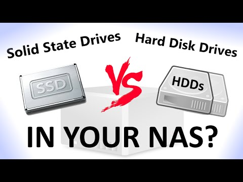 Should you install an SSD or HDD in your NAS?