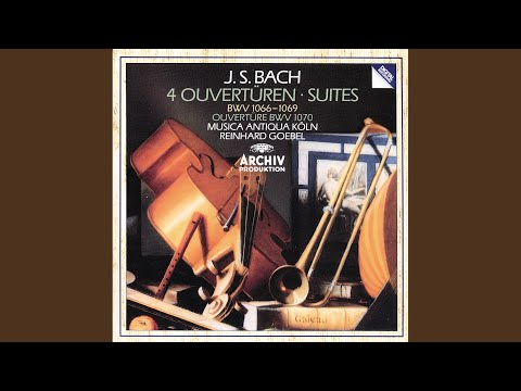 J.S. Bach: Suite No.5 In G Minor, BWV 1070 (Attributed To Bach) - 5. Capriccio (Vivace)