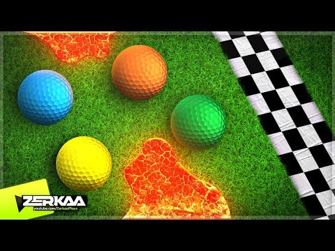 NEW GOLF RACE MODE WITH TROLLS! (Golf It)