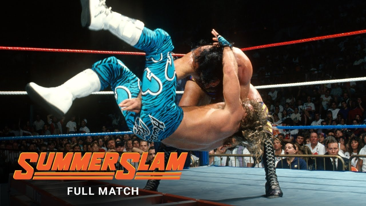 FULL MATCH: Shawn Michaels vs. Razor Ramon - Intercontinental Title Ladder Match: SummerSlam 1995 - YouTube