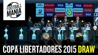 Copa Libertadores 2015 Draw (Sorteo) - Noche de Gala de la CONMEBOL