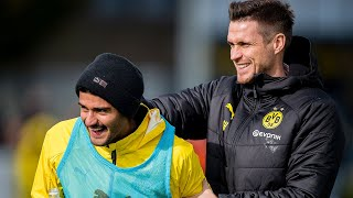 Skills, Shooting Practice and Many Goals at BVB Training