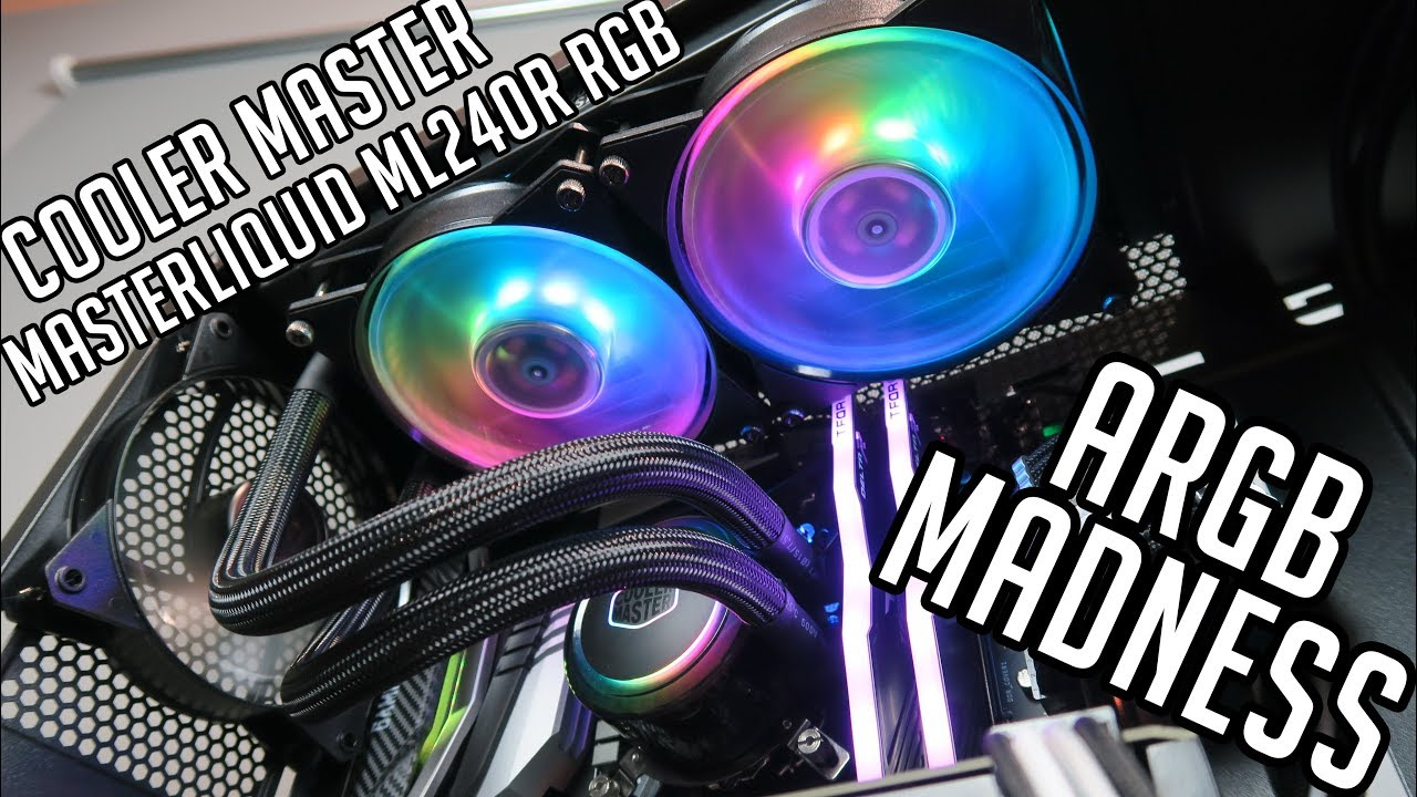 Cooler Master MasterLiquid ML240R RGB - lights and how to connect