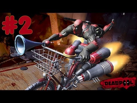 Deadpool: The Video Game - Walkthrough - Part 2 - Job One (X360/PS3/PC) [HD]