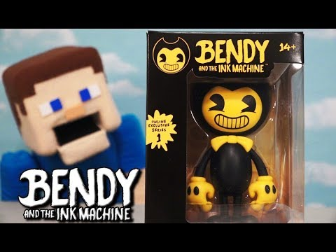 Bendy and the Ink Machine Official Action Figure Exclusive Series 1 Batim Toy Unboxing