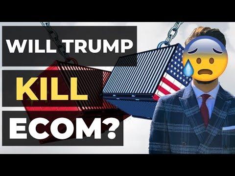 Will Trump KILL Shopify Dropshipping? thumbnail