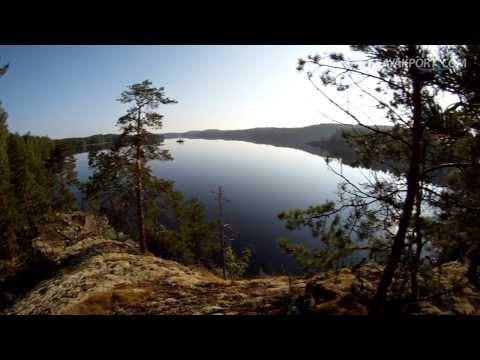 Kayak tour on Lake Saimaa, Finland