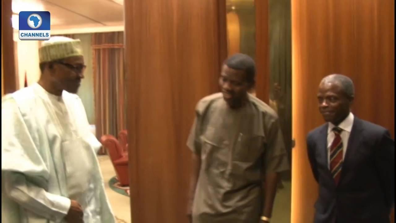 Channelstv Exclusive: Buhari Meets With Pastor Adeboye