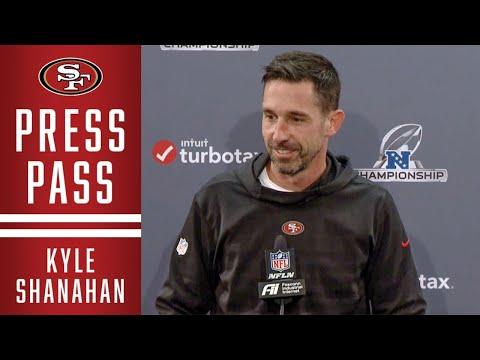 Kyle Shanahan Previews the NFC Championship | 49ers