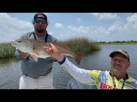 Caught A Tagged Redfish!! (ULTRA RARE) LSU Tag!