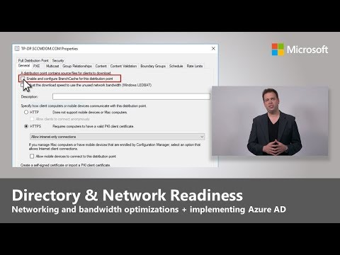 Directory and Network Readiness - Step 2 of Desktop Deployment