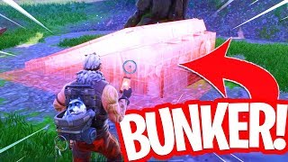 SO YOU CAN CUSTOMIZE EVERYTHING ON THE FORTNITE ISLAND!! OPEN THE BUNKER! Fortnite Creative Glitch