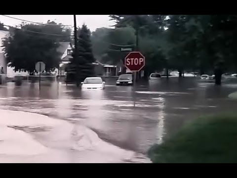 Breaking News Streets Flood In Metro Detroit 8-11-2014