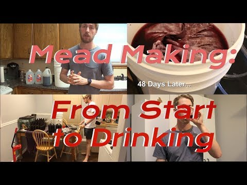 Mead Making: From Start to Drinking
