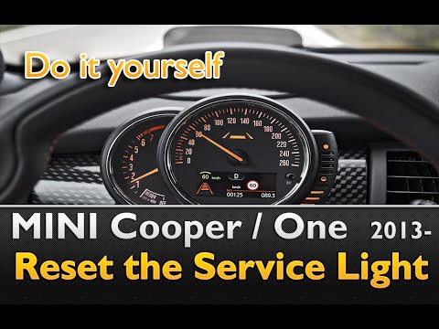 Mini Cooper One Service Light Reset Youtube